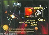 MALDIVES 2014 10TH ANNIVERSARY CASSINI SPACE MISSION TO SATURN SOUVENIR SHEET