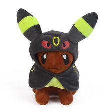 Pokemon Pikachu Plushie Eevee Poncho Umbreon Plush Toy Doll Figure Gift US SELL