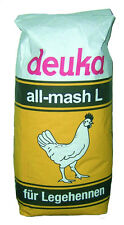 Hühnerfutter / Legehennenfutter Deuka all mash L Mehl 25kg