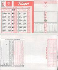 TOTOGOL R@R@  SCHEDA  N.10  A 30 PARTITE DEL 13 11 1994