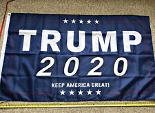 Donald Trump 2020 Flag FREE SHIPPING 3x5FT BLUE Keep America Great Flags Banner