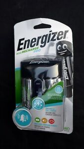 Energizer Accu Recharge Pro Charger Inc 4x AA 2000 mAh Batteries