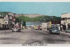 Photo. 1951-2. Port Alberni, BC Canada.  Argyle St