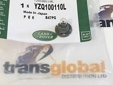 LAND ROVER FREELANDER 1 96-06 Dashboard Clock lampadina e supporto yzq100110l-ORIGINALE