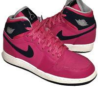 Nike Air Jordan 1 Retro High GG 'Vivid Pink' Size 4Youth Womens 5.5 (332148-609)