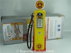DIXIE PETROL GAS PUMP MODEL 1:18 SCALE WAYNE ROAD SIGNATURE 98600 GARAGE K8