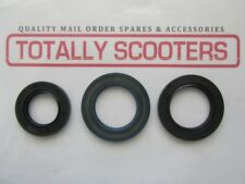 LAMBRETTA CRANK CORTECO OIL SEAL KIT - 3 SEALS - DRIVE SIDE + 2 x MAG SEALS