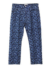 NEW Isabel Marant Etoile embroidered floral skinny fit jeans