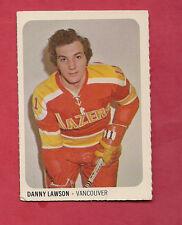 RARE 1973-74 WHA QUAKER OATES VANCOUVER BLAZERS DANNY LAWSON MINI CARD