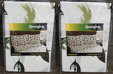 2 packages Standard Fly Fishing Trout Fish Pattern Pillowcases by Remington NEW