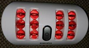 Homedics Massage Dual Foot Massager FMV-200 Vibrating Rolling Balls Portable!