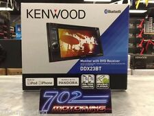 NEW KENWOOD 2016 MODEL DDX23BT DOUBLE DIN DVD RECEIVER BLUETOOTH / DUAL PHONE