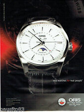 PUBLICITE ADVERTISING  056  2011  Oris montre Artix complacation