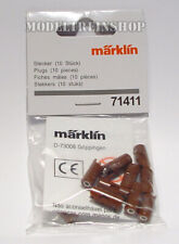 Marklin 71411 Plugs Brown 10pieces