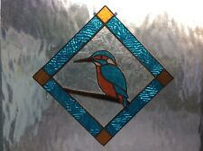 Stained glass tools Kingfisher Bird pre-cut reusable pattern b
