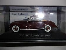 1/43 MERCEDES-BENZ 300 SC ROADSTER 1956-MARRON-IXO