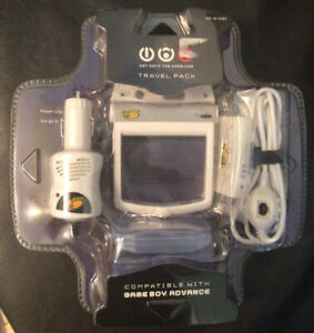 Mad Catz Gameboy Game Boy Advance Travel Pack Brand New! Sealed In Its Package!