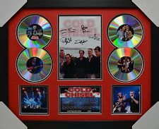 COLD CHISEL 4CD SIGNED FRAMED MEMORABILIA LIMITED EDITION RED