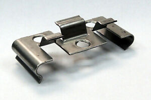 WPC Montage-Clip Edelstahl 25 Stück/Pak. - Silber (60259)