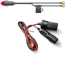 Dc Inversor Cable - Mechero a 2 X M6 Anillo Terminales + Portafusibles