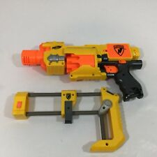 Nerf N-Strike Barricade RV-10 Automatic Revolver 12 Shot Soft Dart Gun Shoulder