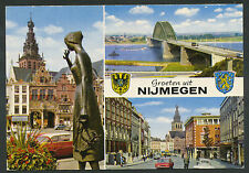 Groeten uit Nijmegen  Misdruk: achterzijde onbedrukt