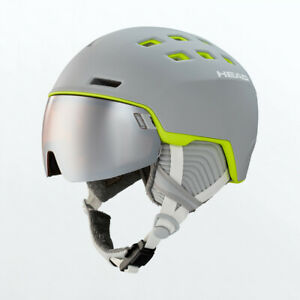 Head Rachel Grey/Lime Damen Ski Snowboard Helm Helmet HS20