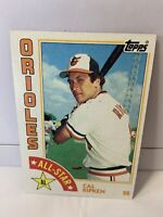 1984 Topps Cal Ripken Jr. #400 NM/MT Baseball Card Baltimore Orioles HOF, Nice💯