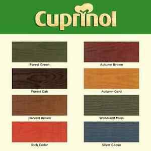 Cuprinol DUCKSBACK 5L Fence Paint All Colors
