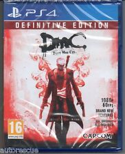 DmC Devil May Cry Definitive Edition  'New & Sealed'   *PS4(Four)*