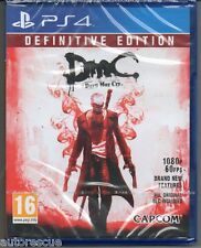 "DMC Devil May Cry edición definitiva ""Nuevo y Sellado' * PS4 (cuatro) *"