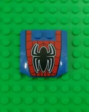 *NEW* Lego 4x4 Stud Spider-man Emblem Car Hood Bonnet for Cars - 1 piece