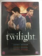 Twilight la Saga Coffret 1 à 4 dvd