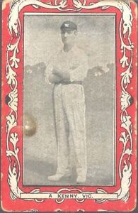 Wills (Aus) - Australian & South African Cricketers, Capstan, scarlet - A Kenny