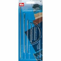 Prym Hand Craft Needle Set Pack of 5 Leather Tent Carpet Sack Upholstery 131107