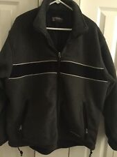 Men's Aberchrombie Winter/Spring Jacket Gray with a Combination of Black Size XL