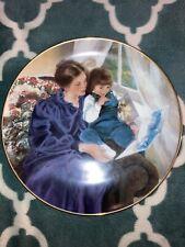 Porcelain Collector Plate #A245 Storytime By Lynne Yancha & Danbury Mint 1990 Le