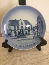 Royal Copenhagen Denmark Rare Collector Plate Wiesbaden/Germany Euc