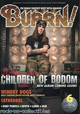 Burrn! Heavy Metal Magazine June 2013 Japan Children of Bodom Winery Dogs