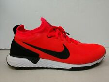 Nike F.C. React Soccer Shoes Solar Red Size US Mens 8 AQ3619-601 Indoor Futsal