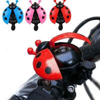 AU_ IC- BL_ US_ 1Pc Ladybird Shape Horn Bike Bicycle Cycling Riding Handlebar Al