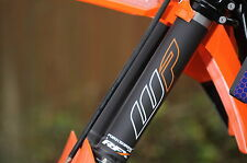 KTM SX85 - 2018 LOGO White/ORANGE - Fork Protection - FORKSHRINK 360 - KTM SX 85