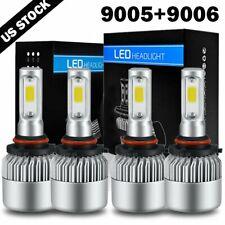 4Pcs LED Headlight Hi-Lo Beam Bulb Kit For 2002-2016 Freightliner M2 100 106 112