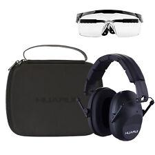 Shooting Ear Protection Earmuffs, Gun Safety Glasses, Earplugs, Protective Case