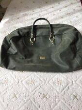 grand sac de voyage cuir vert