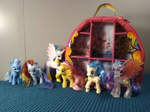 My Little Pony Friendship is Magic Brushables Mix Lot of 6 Case G4 Brony Tinsel