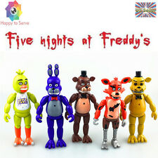 Five Nights At Freddy's FNAF 5 PCS 6'' Action Figures With Light Toys Gifts US
