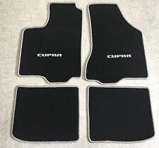Autoteppiche Fußmatten für Seat Ibiza Cupra Typ 6K  4tlg. 93-02 silbergrau  Neu