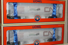 LIONEL #11867 CANADIAN NATIONAL CLYINDRICAL HOPPER  2 PACK