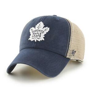 NHL Toronto Maple Leafs Baseball Cap Flagship Trucker 194165353788